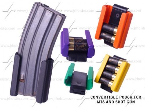 Porte-chargeurs AR15 couleurs JRH - Cliquer pour agrandir