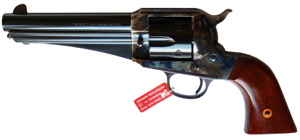 Revolver Uberti 1875 OUTLAW Bronzé / Jaspé en 5,5 pouces - Cliquer pour agrandir