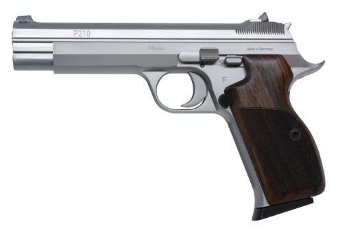Pistolet Sig Sauer P210 LEGEND SILVER - Cliquer pour agrandir