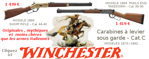 CARABINES A LEVIER SOUS GARDE WINCHESTER - CATEGORIE C