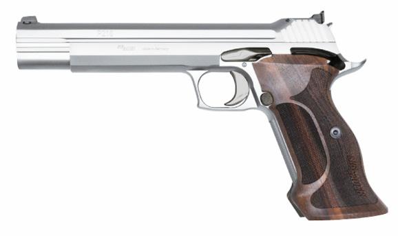Pistolet Sig Sauer P210 SUPER TARGET SILVER - Cliquer pour agrandir