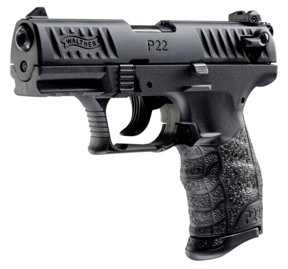 Pistolet WALTHER P22Q Noir - Cliquer pour agrandir
