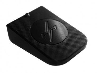 Talon Chargeur alu Noir pour Pistolet STI / MAC par JR Holster - Cliquer pour agrandir
