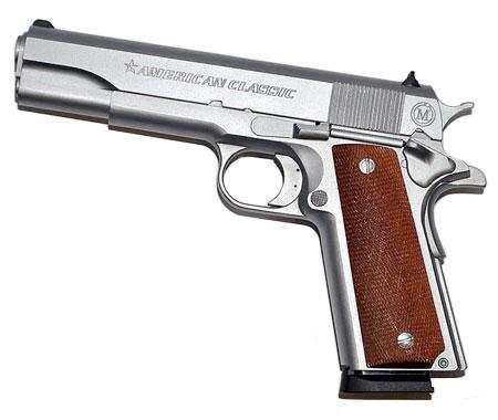 Pistolet MAC American Classic GOVERNMENT Chromé - Cliquer pour agrandir