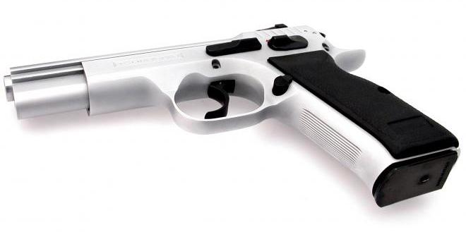 Tanfoglio P19 Combat Sport Chromé - Cliquer pour agrandir