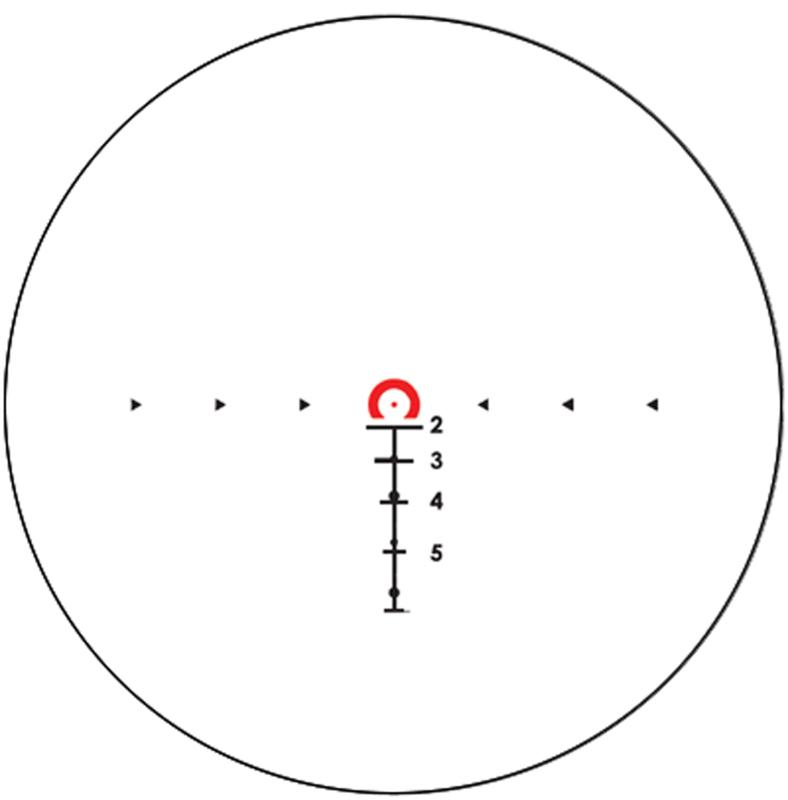 Réticule Viseur Point Rouge SIG Sauer BRAVO 3 3x24